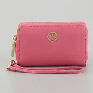 NWOT tory burch Robinson smart phone wallet